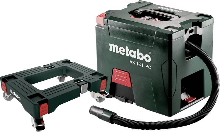 Metabo AS 18 L PC Set 691060000 Droogzuiger 7.50 l Stofklasse L gecertificeerd