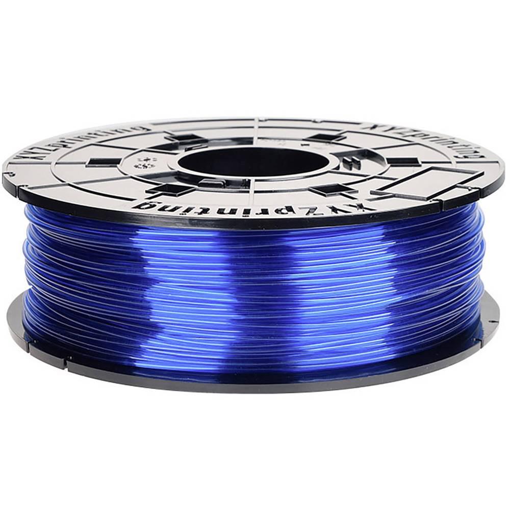 XYZprinting RFPETXEU02E 3D-skrivare Filament PETG korrosionsbeständig, UV-beständig 1.75 mm 600 g Blå (transparent) 1 st