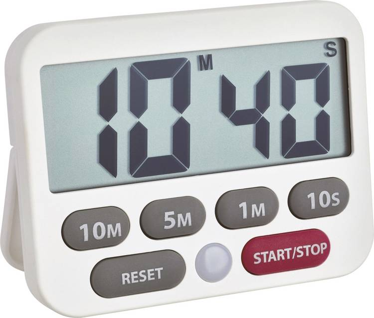 Image of Timer TFA 38.2038.02 Wit Digitaal
