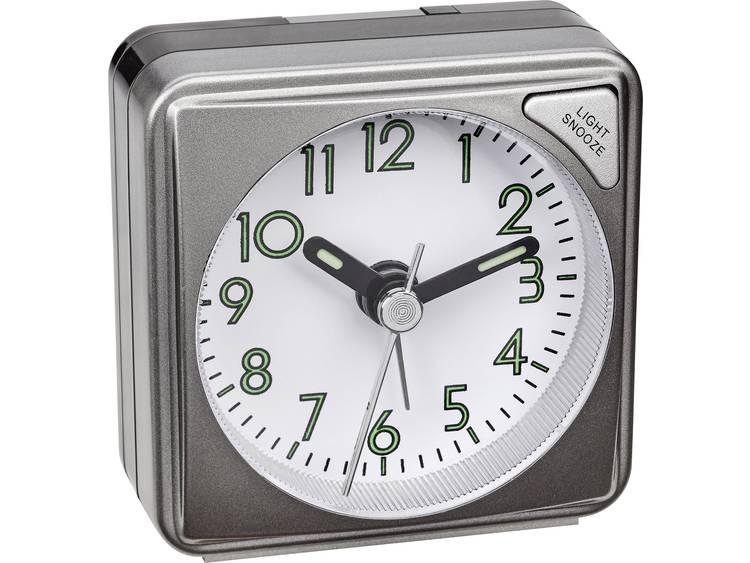 Wekker Quarz Antraciet Alarmtijden: 1 TFA 60.1027.10
