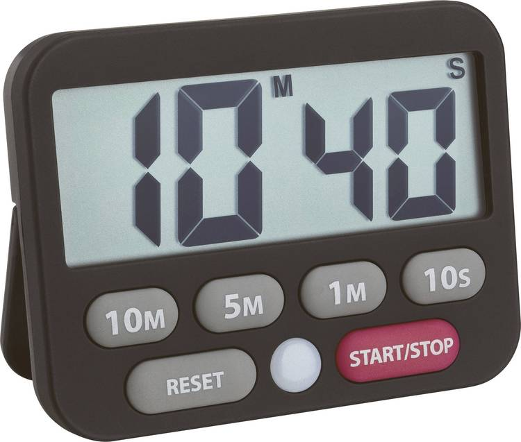 Timer TFA 38.2038.01 Zwart Digitaal