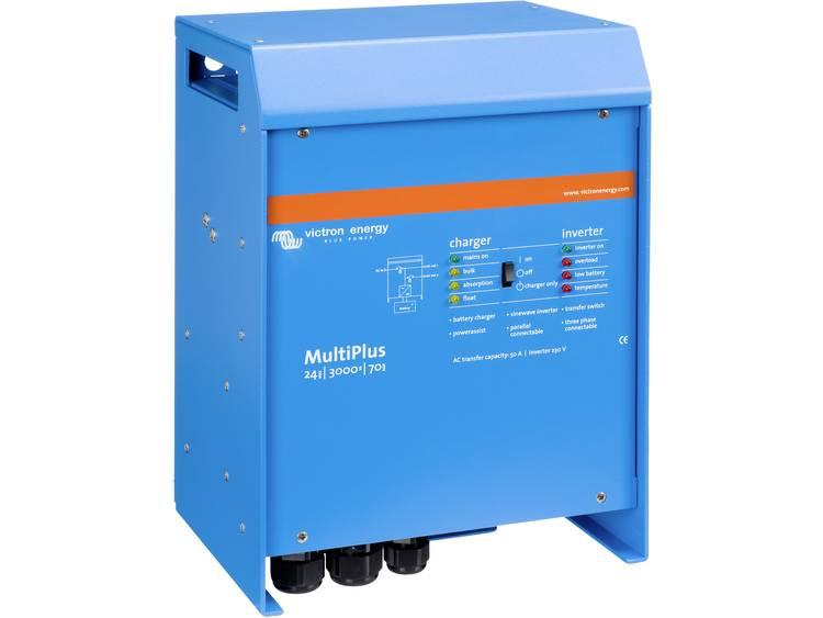 Victron Energy MultiPlus 24-3000-70-50 Netomvormer 3000 W 24 V-DC Kabel
