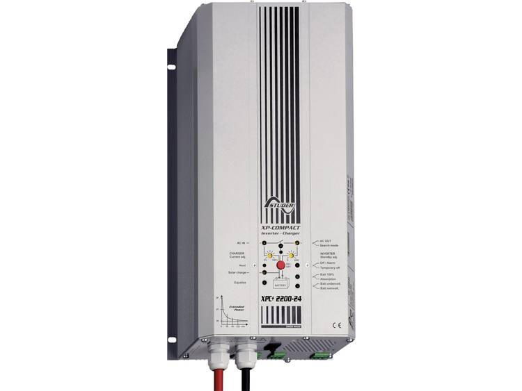 Studer XPC+ 2200-24 Netomvormer 2200 W 24 V-DC Netvoeding Kabel