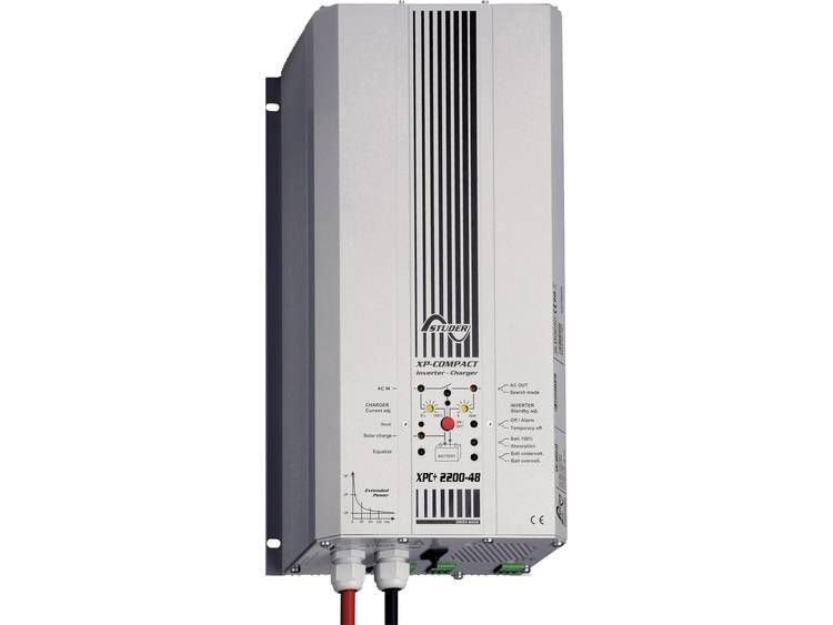 Studer XPC+ 2200-48S Netomvormer 2200 W 48 V-DC Netvoeding Kabel