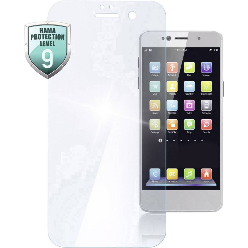 Hama Premium 183403 Displayskyddsglas Lämplig för: Huawei P20 Pro 1 st