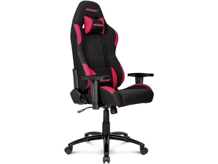 AKRACING PRIME Gaming stoel Rood, Zwart