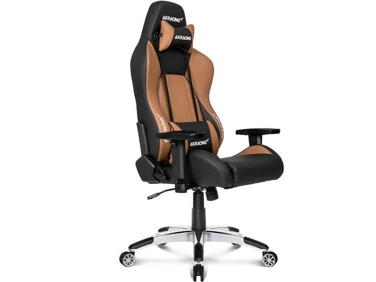 AKRACING Premium V2 Gaming stoel Bruin, Zwart