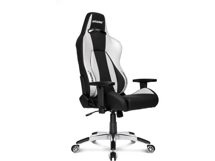 AKRACING Premium V2 Gaming stoel Zilver, Zwart