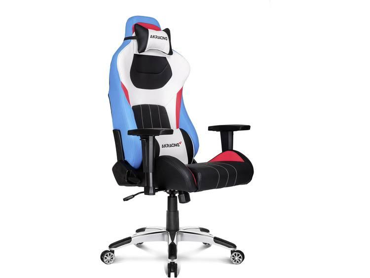AKRACING Premium Style V2 Gaming stoel Blauw, Wit, Zwart, Rood