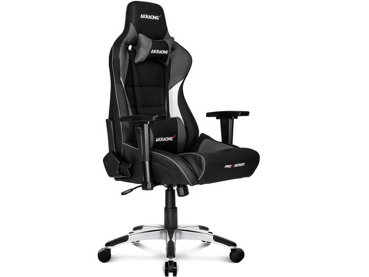 AKRACING PROX Gaming stoel Zwart, Grijs, Wit