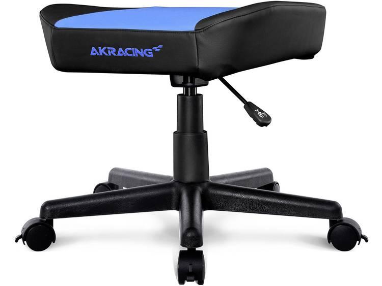 AKRACING AK-FOOTSTOOL Gaming hocker Zwart, Blauw