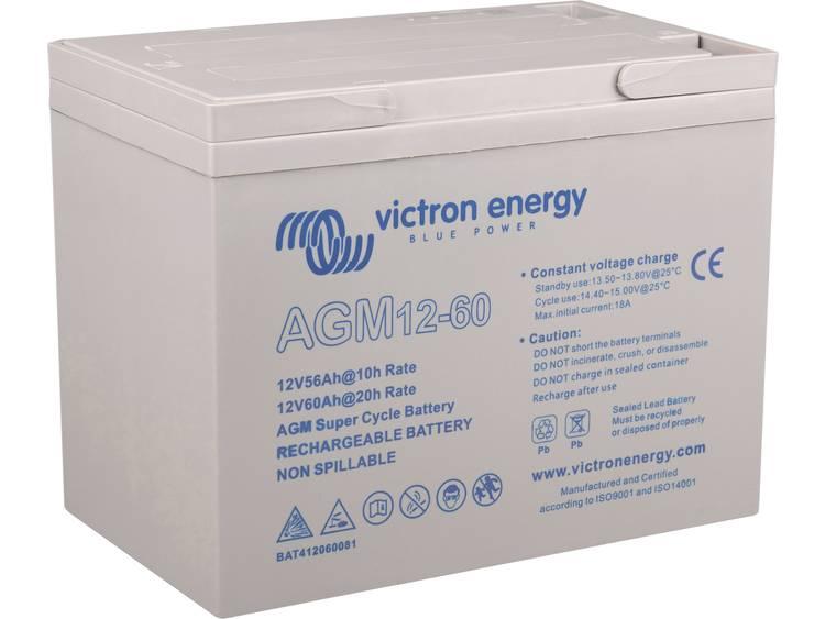 Victron Energy Blue Power BAT412550104 Solar-accu 12 V 60 Ah Loodgel (b x h x d) 229 x 227 x 138 mm M8-schroefaansluiting