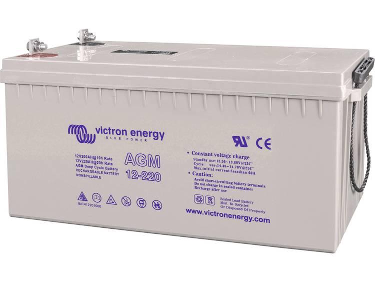Victron Energy Blue Power BAT412201104 Solar-accu 12 V 220 Ah Loodgel (b x h x d) 522 x 238 x 240 mm M8-schroefaansluiting