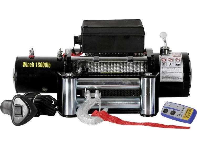 Lier Trekkracht (rollend): 11800 kg Berger & Schröter 31807 Draadloze afstandsbediening, Incl. roll