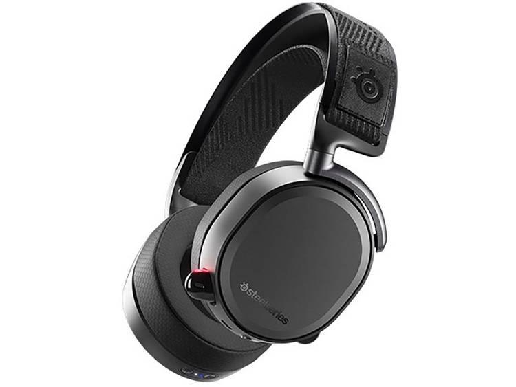 Steelseries Arctis Pro Wireless Gaming headset Bluetooth, USB, 3.5 mm jackplug Draadloos Over Ear Zwart