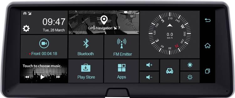 Image of Phonocar VM321 Dashboard Multimediasystem Dashcam met GPS WiFi, Touchscreen, Display, Microfoon