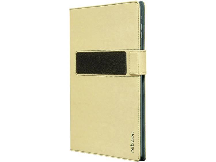 reboon Bookcase Universele tablet hoes Geschikt voor displaygrootte: 25,4 cm (10) - 27,4 cm (10.8) Beige