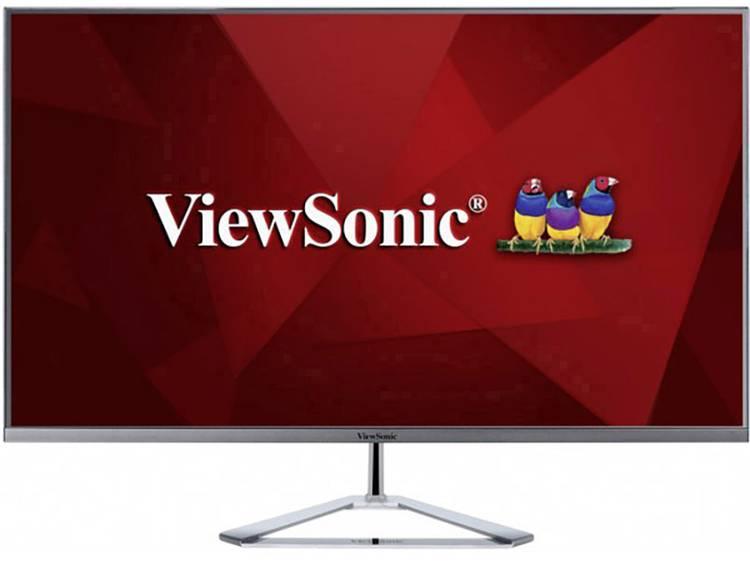 LED-monitor 81.3 cm (32 inch) Viewsonic VX3276-2K-MHD Energielabel B 2560 x 1440 pix WQHD 3 ms HDMI, DisplayPort, Mini DisplayPort, Hoofdtelefoon (3.5 mm