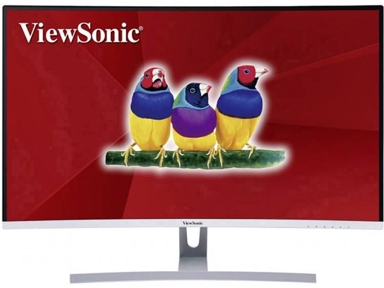 LED-monitor 81.3 cm (32 inch) Viewsonic VX3217-2KC-MHD Energielabel B 2560 x 1440 pix WQHD 5 ms HDMI, DisplayPort, Mini DisplayPort, Hoofdtelefoon (3.5 mm