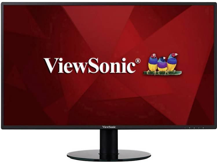 LED-monitor 68.6 cm (27 inch) Viewsonic VA2719-2K-SMHD Energielabel A 2560 x 1440 pix WQHD 5 ms HDMI, DisplayPort, Hoofdtelefoon (3.5 mm jackplug), Audio,
