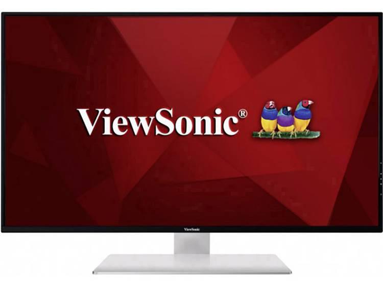 LED-monitor 109.2 cm (43 inch) Viewsonic VX4380-4K Energielabel B 3840 x 2160 pix UHD 2160p (4K) 5 ms HDMI, DisplayPort, Mini DisplayPort, Hoofdtelefoon (3.5