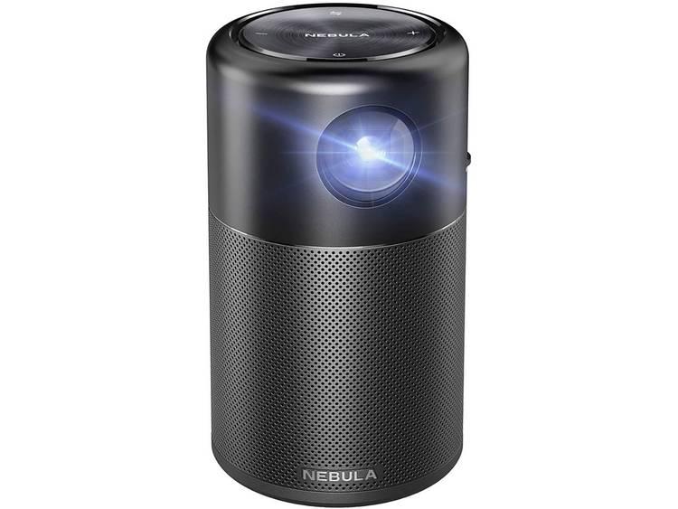Anker DLP Beamer Nebula Capsule Helderheid: 100 lm 854 x 480 WVGA 1500 : 1 Zwart