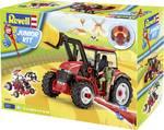 Modelbouwpakket tractor met lader en figuur