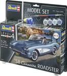 Modelbouwpakket '58 Corvette Roadster