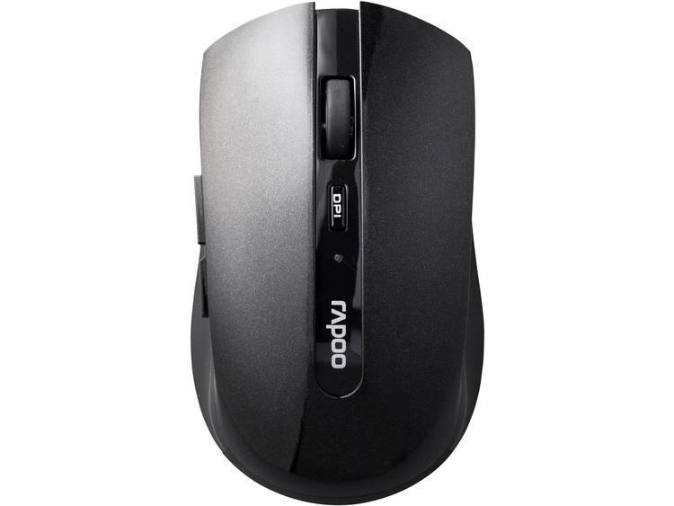 Rapoo 7200P Draadloze muis Optisch Zwart