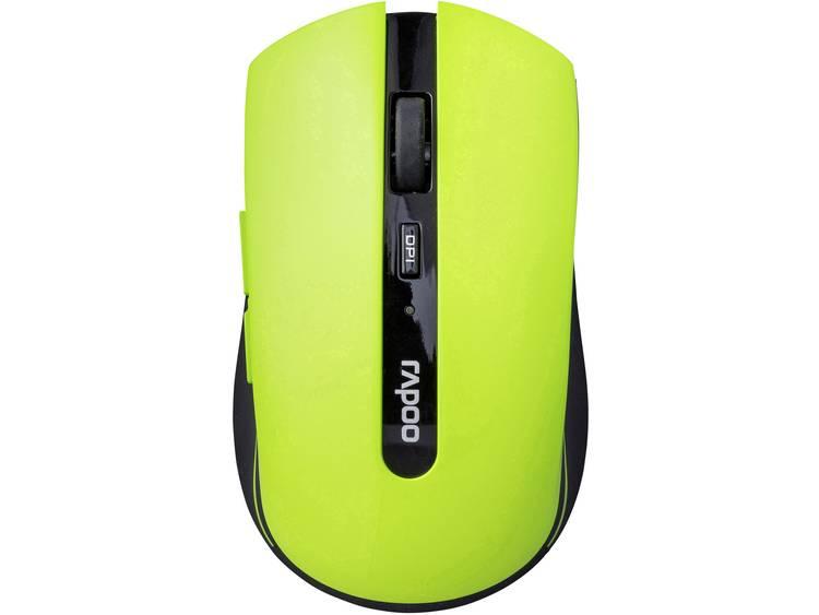 Rapoo 7200P Draadloze muis Optisch Groen