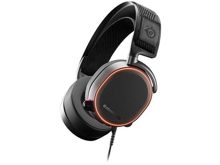 Gaming headset 3.5 mm jackplug, USB Kabelgebonden Steelseries Arctis Pro Over Ear Zwart