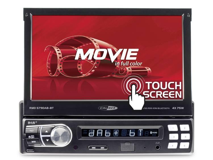 Caliber Audio Technology RMD579DAB-BT Autoradio met scherm 4 x 75 W USB, microSD, Jackplug, AV, Blue
