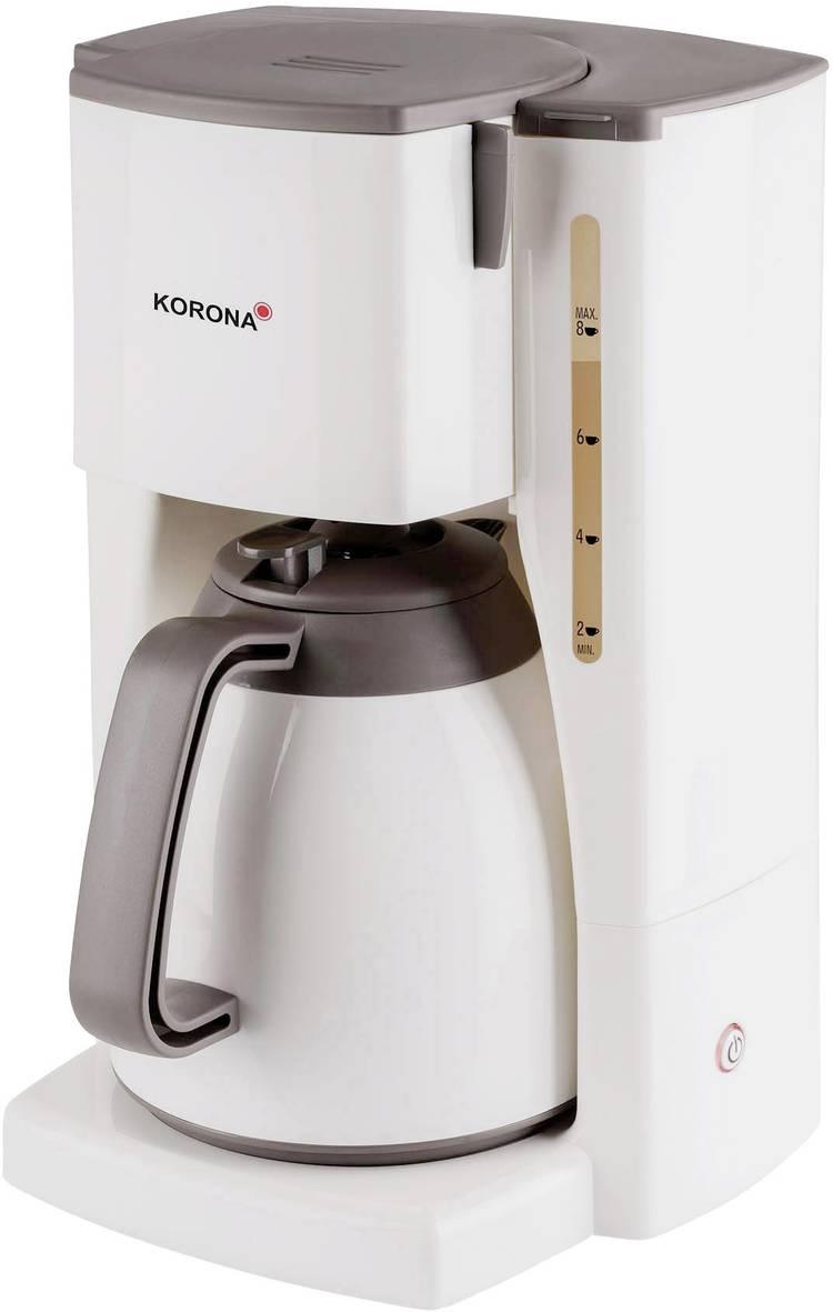 Image of Koffiezetapparaat Korona 10410 Crème, Bruin Capaciteit koppen=8 Thermoskan