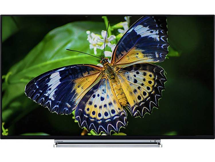 Toshiba 49V6763DA LED-TV 124 cm 49 inch Energielabel A+ DVB-T2, DVB-C, DVB-S, UHD, Smart TV, WiFi Zwart