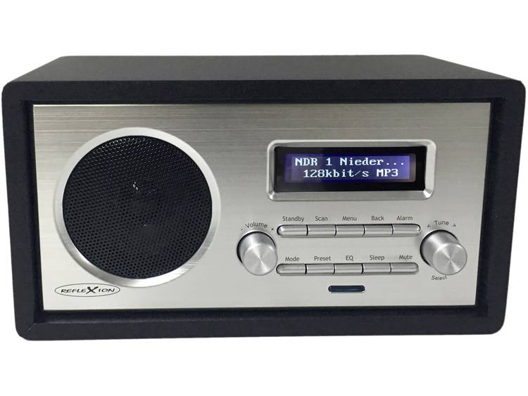 Reflexion HRA1260i Internet Tafelradio AUX WiFi Geschikt voor DLNA Zwart