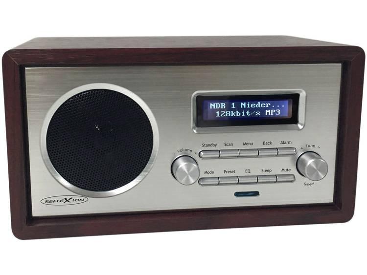 Reflexion HRA1260i Internet Tafelradio AUX WiFi Geschikt voor DLNA Hout