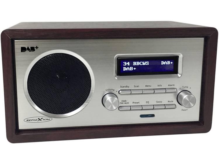 Reflexion HRA1255DAB Tafelradio DAB+, FM AUX Hout