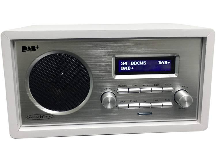 Reflexion HRA1255DAB Tafelradio DAB+, FM AUX Wit