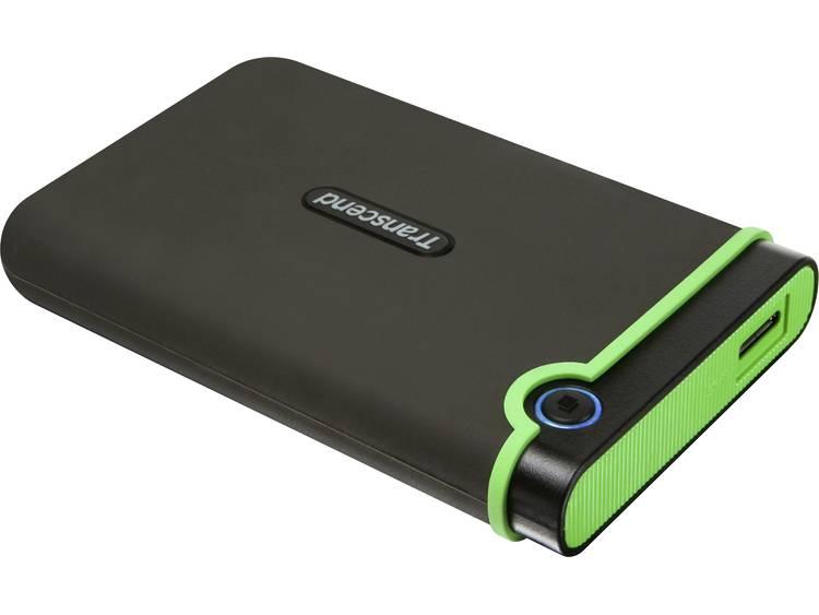 Transcend StoreJet® 25M3S Slim -15 % 500 GB Externe harde schijf (2.5 inch) USB 3.0 Staalgrijs