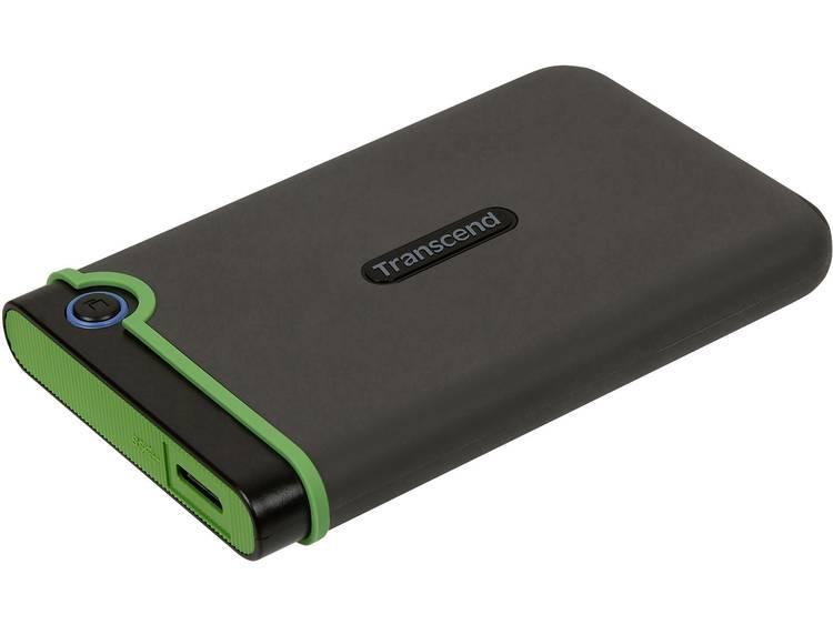 Transcend StoreJet® 25M3S Slim -15 % 2 TB Externe harde schijf (2.5 inch) USB 3.0 Staalgrijs