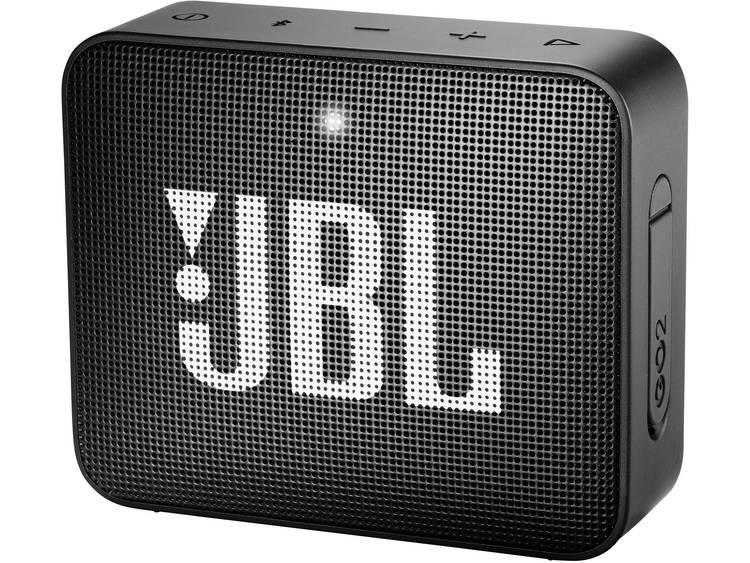 JBL Go2 Bluetooth luidspreker AUX, Handsfree-functie, Outdoor, Waterdicht Zwart