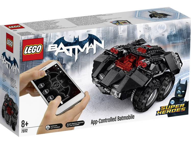 LEGO® DC Super Heroes App-Controlled Batmobile