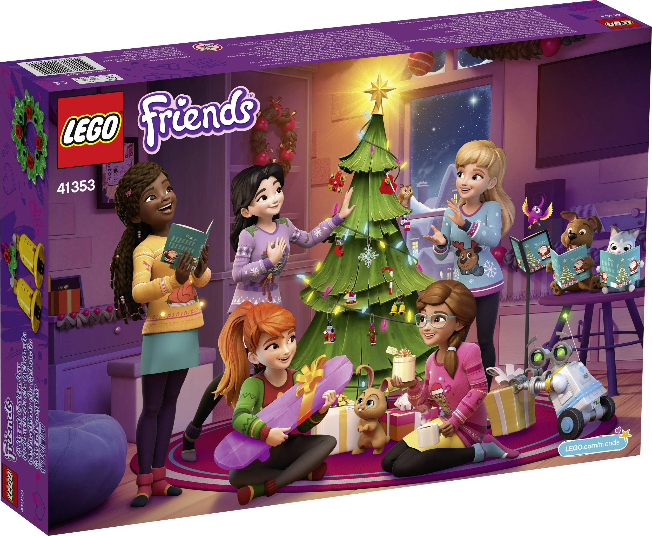 Weihnachtskalender Lego Friends.Adventskalender Lego Friends Friends 6 12 Jaar Conrad Be