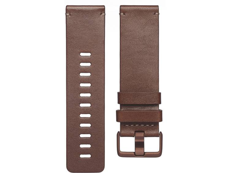 FitBit Versa Reserve armband Maat=S Cognac