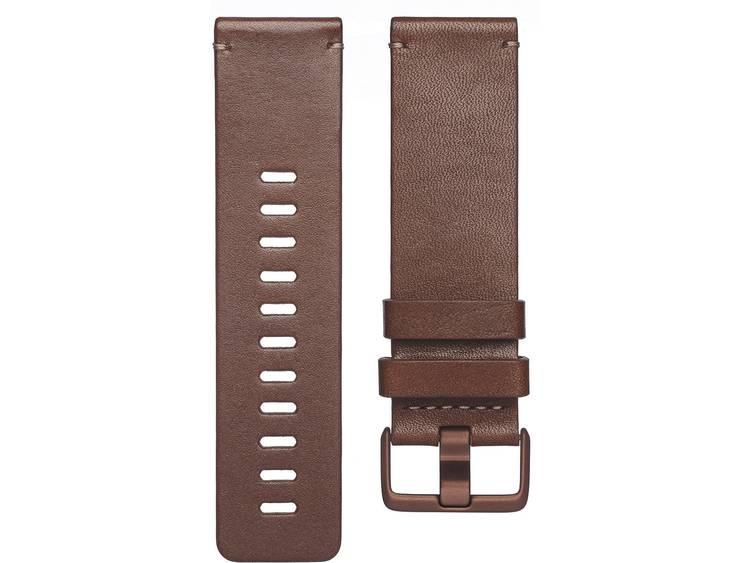 FitBit Versa Reserve armband Maat=L Cognac