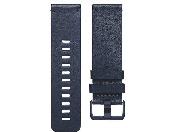 FitBit Versa Reserve armband Maat=L Blauw