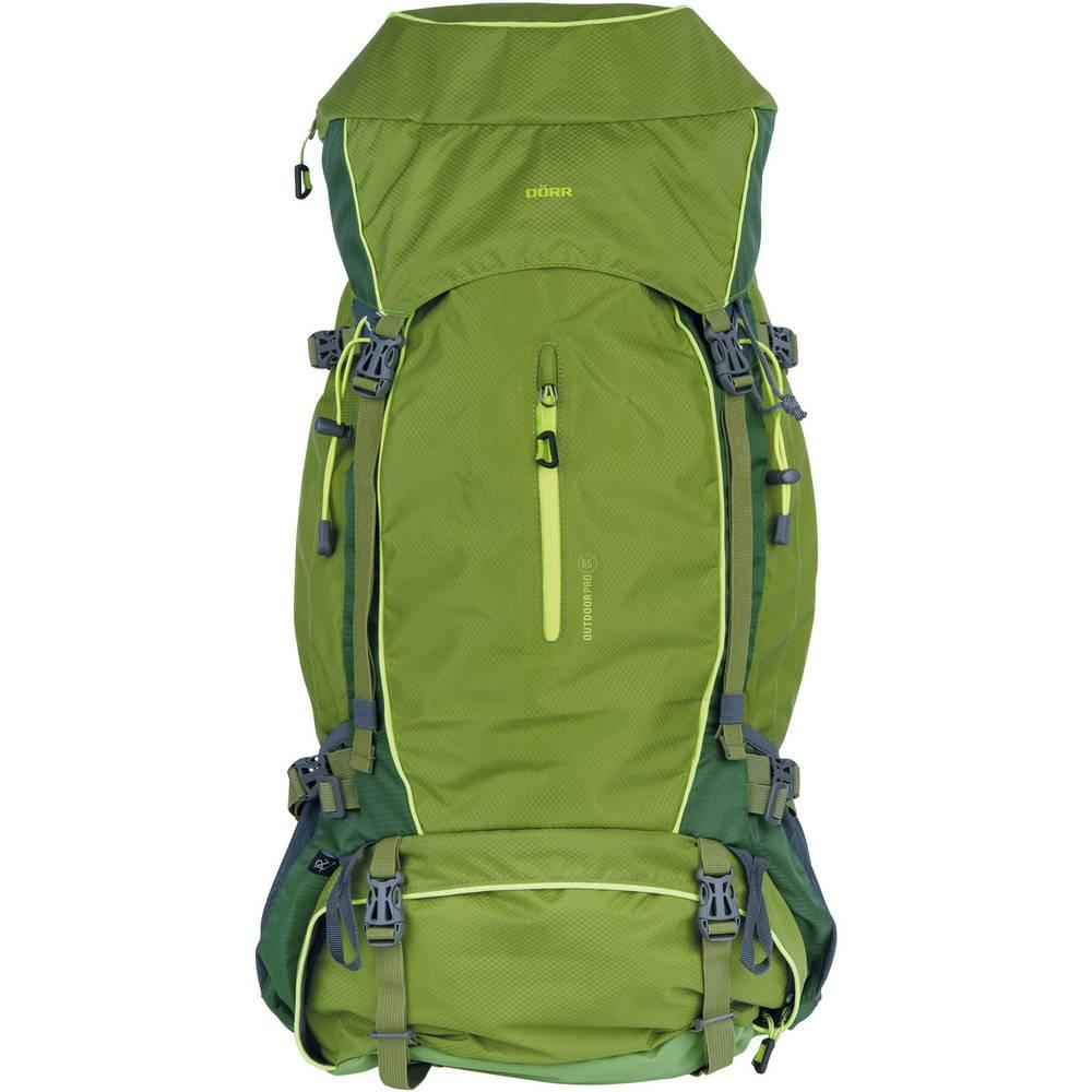 DÖRR Ryggsäck Outdoor Pro 65 + Pro 15 65 l (B x H x D) 350 x 750 x 250 mm Grön 464016