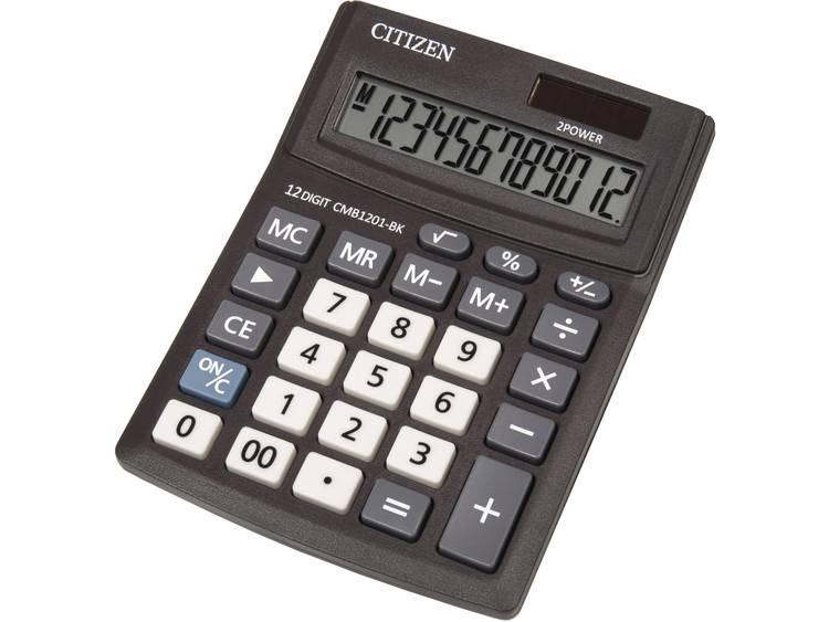 Bureaurekenmachine Citizen Office CMB1201 Aantal displayposities: 12 werkt op zonne-energie, werkt op batterijen