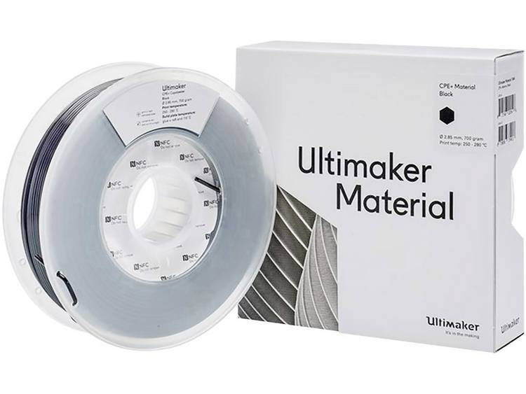 Filament Ultimaker 1644 2.85 mm Zwart 700 g