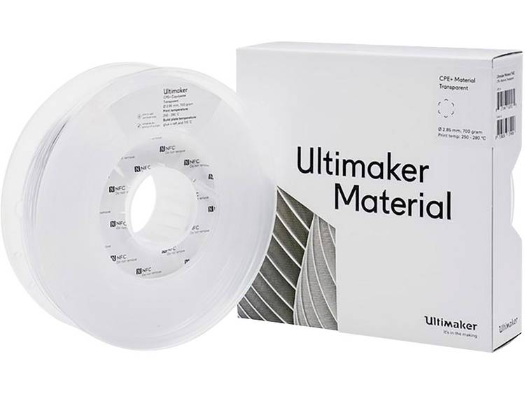 Filament Ultimaker 1643 2.85 mm Transparant 700 g